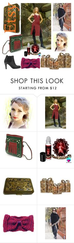 """Shop Small for the Holidays!"" by nadiasknits ❤ liked on Polyvore featuring Ask Alice, Shea's Wildflower Company and Paul Smith Red Ear"