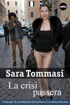 Sara Tommasi e la Bernarda che sa tutto di finanza    http://gossip.fanpage.it/sara-tommasi-bocconiana-come-monti-e-di-nuovo-senza-slip/