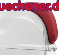 Vespa PRIMAVERA Rückenlehne rot für 50 ccm  #PRIMAVERA #Rückenlehnerotfür50ccm #VespaZubehör
