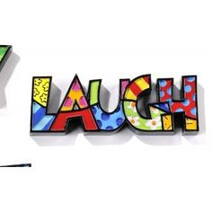 Disney Britto Mini Decor Words - Laugh Available @ Li'l Treasures $22 - Australian Store.