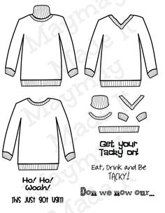 Christmas Jumpers Free Pattern Download | Christmas jumpers, Free ...