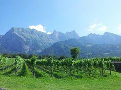 Tolle Aussicht in Liechtenstein
