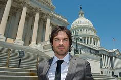 Ian Somerhalder Stands Up For Elephants - Wildlife Conservation Society