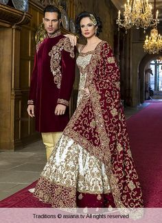 traditions-158 | Asiana.tv Asian Wedding Dress, Indian Wedding Wear, Pakistani Wedding Dresses, Pakistani Outfits, Indian Dresses, Bridal Lehngas, Foto Pose, Bridal Outfits, Indian Designer Wear