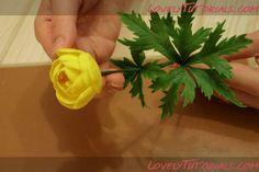 Globeflower (Trollius)flower tutorial http://www.lovelytutorials.com/forum/showthread.php?t=4065&goto=nextnewest