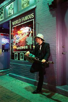 World-famous Tootsies on Broadway in Nashville