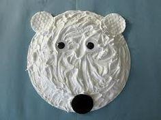 preschool crafts for kids - polar bear arctic-animals
