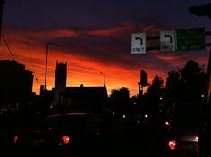 5:00 sunset in December