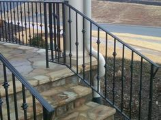 Wrought Iron Railing Porch Design Ideas, Pictures, Remodel and Decor