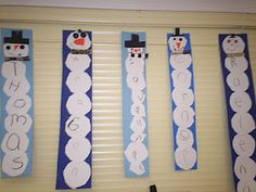 snow man names and other activities