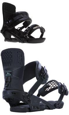 7aa98440da71 Bindings 21248  New Ride Rodeo Snowboard Bindings Black Medium  249 Msrp  - gt  BUY