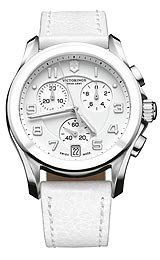 Victorinox Swiss Army Chrono Classic White Dial Women's Watch #241500 Victorinox Swiss Army. $625.00