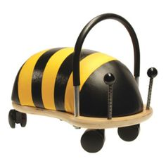 Prince Lionheart Bee Wheely Bug Riding Push Toy - The Prince Lionheart Wheely Bug - Bee will keep your child as busy as a bee for hours on end. This riding toy is decorated like a bee with black and. Bugs, Prince Lionheart, Kids Ride On Toys, Small Bees, Push Toys, Before Baby, Baby Massage, Gross Motor Skills, Baby Items