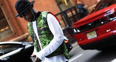 http://chicerman.com  billy-george:  Loving the hat.  Source: Four-Pins  #streetstyleformen