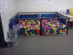 Homemade Sensory Ball Pit less than $100 without the balls