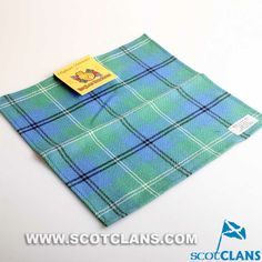 Clan Oliphant Ancient Tartan Handkerchief