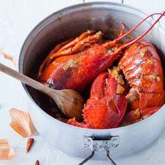 Les homards à l'armoricaine d'Annaig