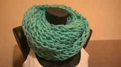 zelený nákrčník - hrejivý, moderný