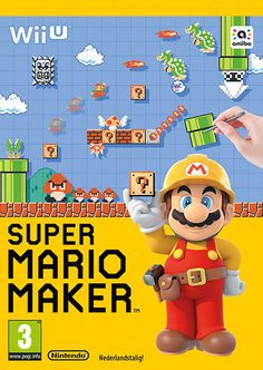 Grab your Wii U GamePad and get ready for the most creative, limitless and exciting Super Mario game to date with Super Mario Maker. Create and play a nearly endless number of Super Mario levels and play through loads more designed by Nintendo and players Super Mario World, Mundo Super Mario, Super Mario Games, Super Mario Bros, Nintendo Wii U Games, Wii Games, Buy Nintendo, Super Nintendo, Mario Brothers