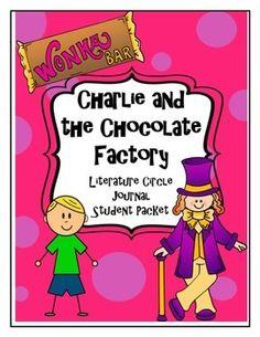 Charlie and the Great Glass Elevator Literature Circle Journal Student Packet Charlie Chocolate Factory, Glass Elevator, Literature Circles, Roald Dahl, Teacher Pay Teachers, Goal, Novels, Study, Journal
