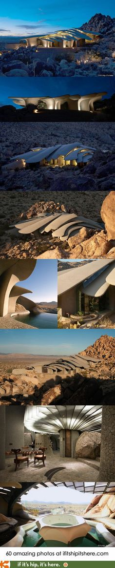 If It's Hip, It's Here: The Paragon Of Modern Organic Architecture, Ken Kellogg's Desert Home, Is On The Market for $3 Million. (60 Photos) Like this.