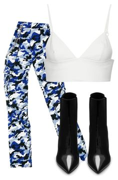 """Untitled #258"" by mayacatecuffe on Polyvore featuring I.AM.GIA, T By Alexander Wang and Yves Saint Laurent"