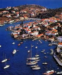 Hydra, Greece. CHECK.  One of my favorite places in the world.  Automated transportation is against the law in Hydra.  It's a heaven on earth.