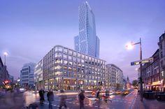 Wettbewerb für Rundschau-Areal entschieden / Hadi Teherani baut in Frankfurt - Architektur und Architekten - News / Meldungen / Nachrichten - BauNetz.de