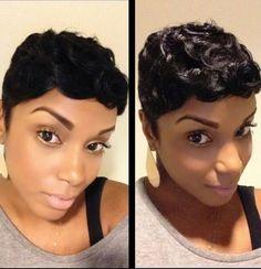 Thick n short curls