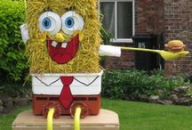 spongebob squarepants scarecrow - Google Search