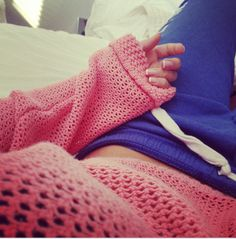 sweater and sweatpants<3