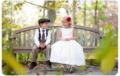 Wedding Photography Ideas - Young Attendants at a Cincinnati Nature Center Wedding from http://kimlongphotographyclients.com/blog/?p=3735