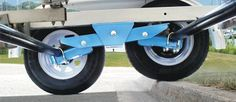 Bilderesultat for tailwind trailer suspension Cargo Trailer Camper, Atv Trailers, Trailer Diy, Custom Trailers, Off Road Trailer, Trailer Plans, Trailer Build, Utility Trailer, Off Road Camping