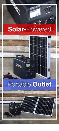 This thing can power just about any device you can plug into a standard wall outlet, including a fridge. It even comes with a foldable solar panel. You can lift it with one person and store just about anywhere. Oh yeah, and you can use it indoors. Solar Energy Panels, Best Solar Panels, Uses Of Solar Energy, Pergola, Solar Roof Tiles, Solar Generator, Solar Projects, Solar House, Roofing Systems