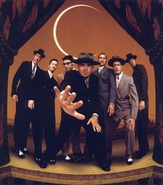Big Bad Voodoo Daddy: Like Squirrel Nut Zippers and the Cherry Poppin' Daddies, Big Bad Voodoo Daddy revived big-band music for the '90s and beyond. BBVD concentrated on the swinging days of the '40s and '50s, borrowing some of the Rat Pack lingo in addition to the zoot suits that cloaked each bandmate. Formed in Los Angeles in 1992, the group built up a following with regular gigs on the local lounge circuit, playing to Gen-Xers enamored with the kitschy charm of the cocktail nation.