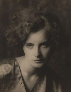 Greta Garbo. 1925. Arnold Genthe.