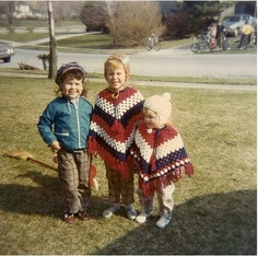 Crocheted Ponchos - grandma made me one or two or ten 1970s Childhood, My Childhood Memories, Thanks For The Memories, Great Memories, Moda Vintage, Retro Vintage, My Memory, The Good Old Days, Old School
