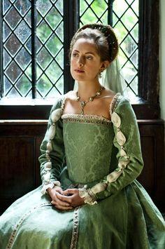 Un autre très belle robe de l'époque Tudor.