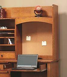 51. Add Cork Board Back To Many Desk Hutch Tops|50+ Ways To · Hardwood  FurnitureAmish ...