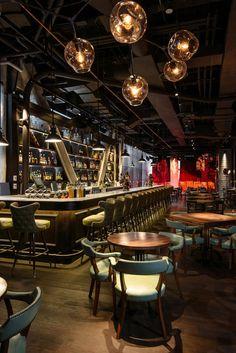 Appetizing Design: 10 Noteworthy NYC Restaurants Appetitliches Design: Neue und bemerkenswerte Restaurants in NYC Pub Interior, Bar Interior Design, Home Design, Design Ideas, Design Design, Luxury Interior, Design Projects, Design Trends, Design Inspiration