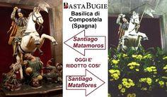 Santiago de Compostela: ecco come è stata trasformata la statua del Santo per non offendere gli islamici