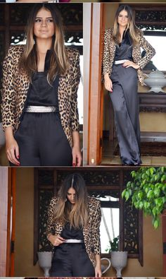 Black Overall - Thassia Naves