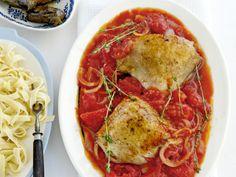 Griekse kip in tomatensaus - Grieks | Weekmenu