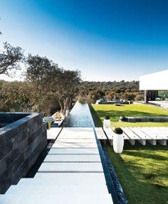 Pool and garden design.