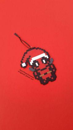 Deadpool Christmas Ornament Nerdy Christmas Ornament Comic