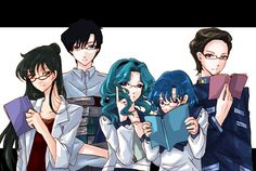 Sailor Moon /The smart ones. Lol