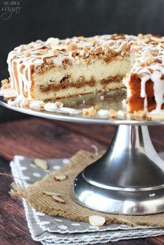 Toffee Almond Streusel Coffee Cake Really nice recipes. Every  Mein Blog: Alles rund um Genuss & Geschmack  Kochen Backen Braten Vorspeisen Mains & Desserts!