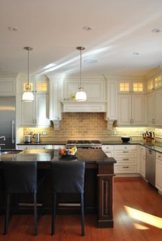 Fabulous Friday: Feiss Parker Place Brightens Up a Kitchen - Lights Online Blog