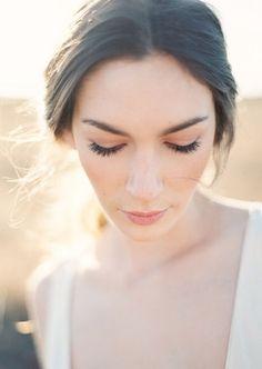 Natural wedding makeup #OnceWed