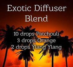 Dreaming of a vacation?! Exotic Diffuser Blend! www.greenlivingladies.com www.mydoterra.com/303320